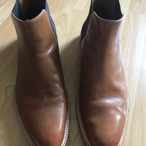 Shoes - Chelsea Boots leather brown men 10